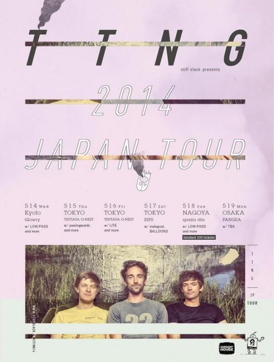 TTNG JAPAN TOUR 2014