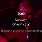 【高画質・高音質】 toe アメリカ、カナダツアー ボストンでのライブ動画 全曲まとめ