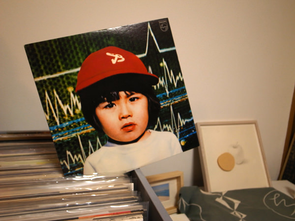 DJ風なレコードの置き方