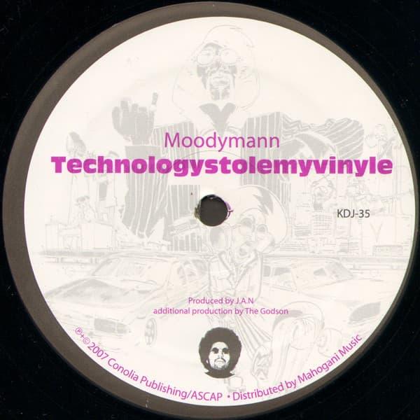 Moodymann - Technologystolemyvinyle